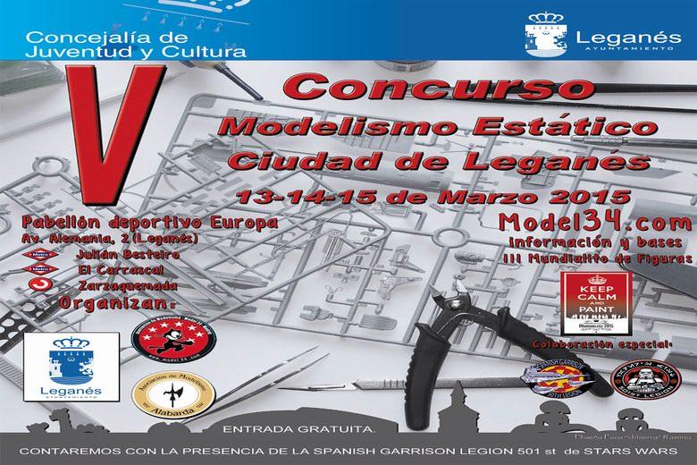 El V Concurso de Modelismo Estático 'Ciudad de Leganés' se celebrará entre este fin de semana