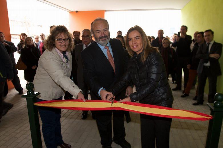 Miriam Rabaneda inaugura el Centro Integral de Personas con Discapacidad en Pinto