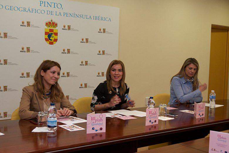 Miriam Rabaneda destaca que en un año se han alcanzado más del 70% de los objetivos del Plan de Igualdad de Pinto