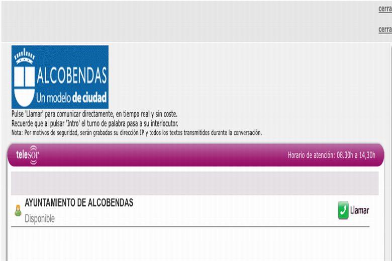 Atención telefónica a personas sordas a través de una aplicación de móvil en Alcobendas