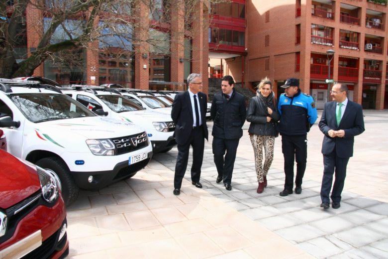 Nuevos vehículos para la Policía Local de Coslada