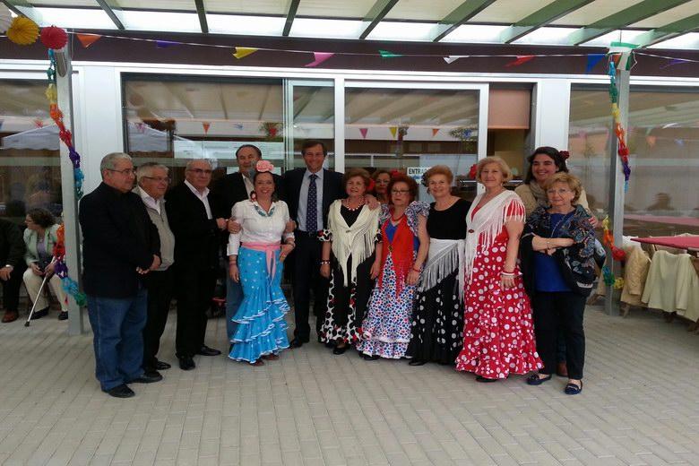Casi ochocientos mayores han celebrado este fin de semana la Feria de Abril en Boadilla del Monte