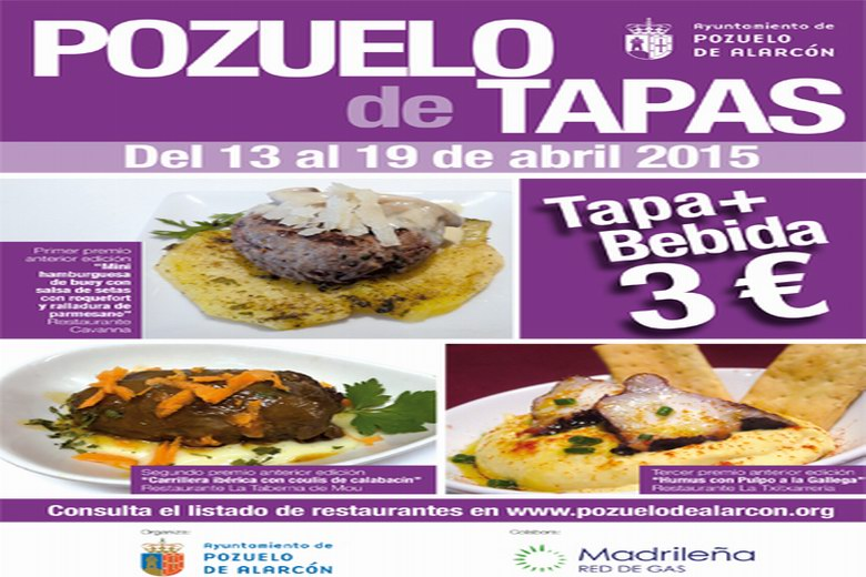 Más de una treintena de restaurantes de Pozuelo ofrecerán tapa y consumición por 3 euros