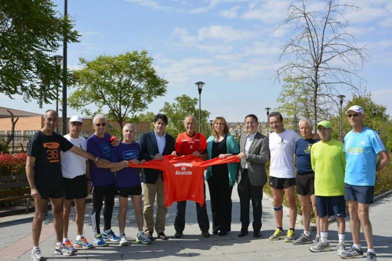 El 'abuelo maratoniano' representará a Alcorcón en la Maratón de Madrid