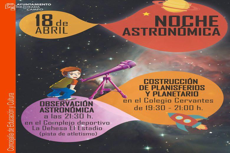 Aprendices de astrónomo en Mejorada