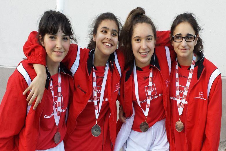 Cuatro deportistas de la Escuela Municipal de Yudo de Parla, clasificadas para el Campeonato de España