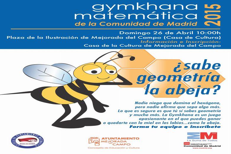 Gymkhana matemática en Mejorada del Campo