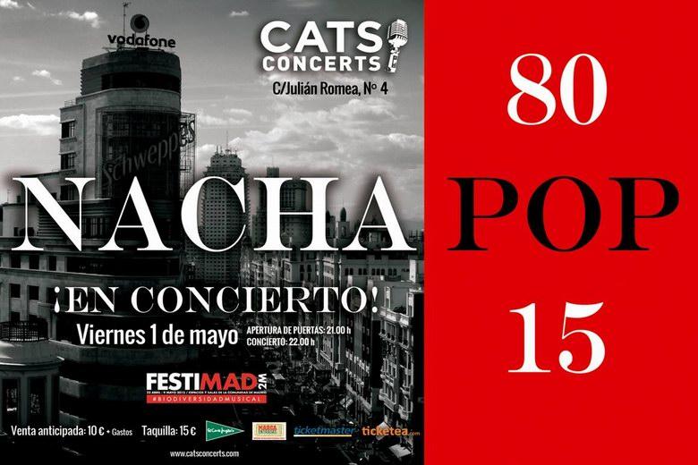 Los míticos Nacha Pop actuaran el 1 de Mayo en la Sala Cats de Madrid