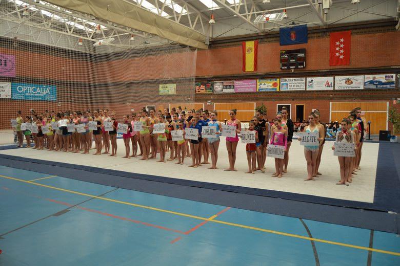 Humanes acogió la Final de la Comunidad de Madrid de Gimnasia Rítmica
