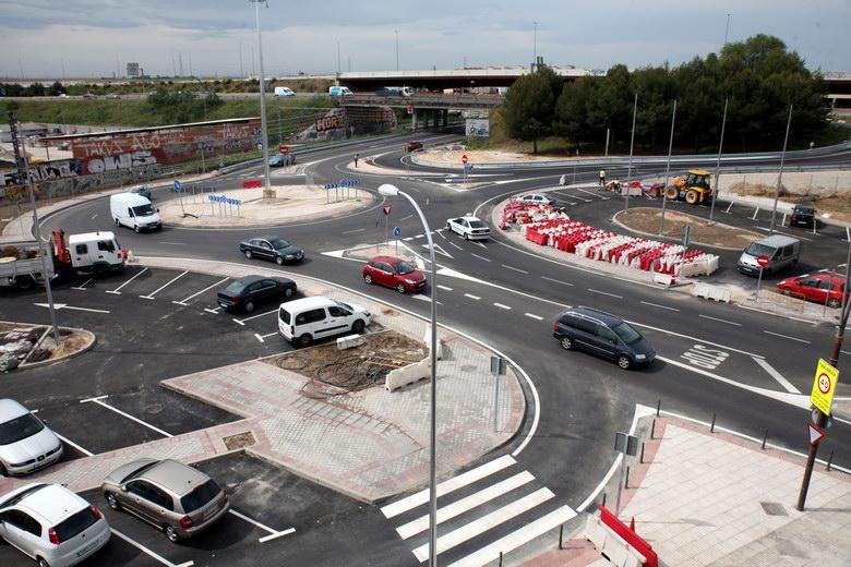 Abierto al tráfico en Fuenlabrada el acceso a la M-506 desde la calle Portugal
