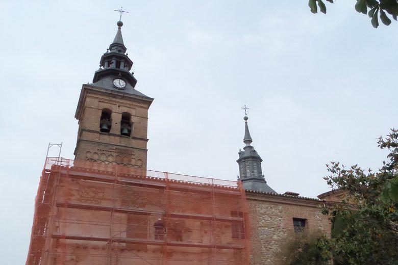 En marcha la última fase del acondicionamiento del entorno de la iglesia parroquial de Navalcarnero