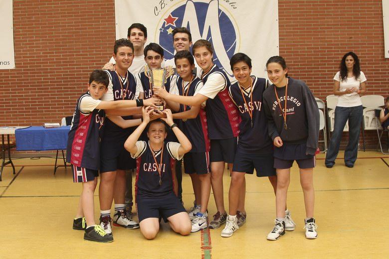 Celebrada la Copa Municipal de Baloncesto Infantil 2015 de Móstoles
