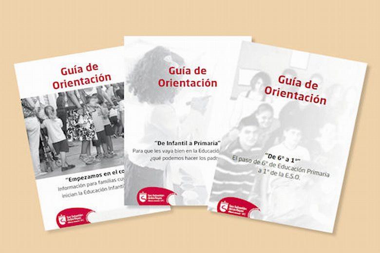 San Sebastian de los Reyes edita tres guías de orientación educativa para el curso escolar 2015/16