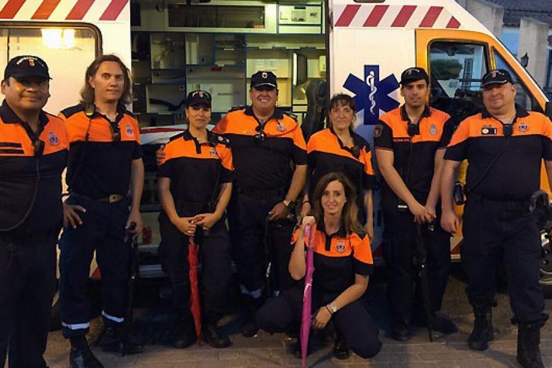 Actuaciones del servicio de Protección Civil de Arroyomolinos