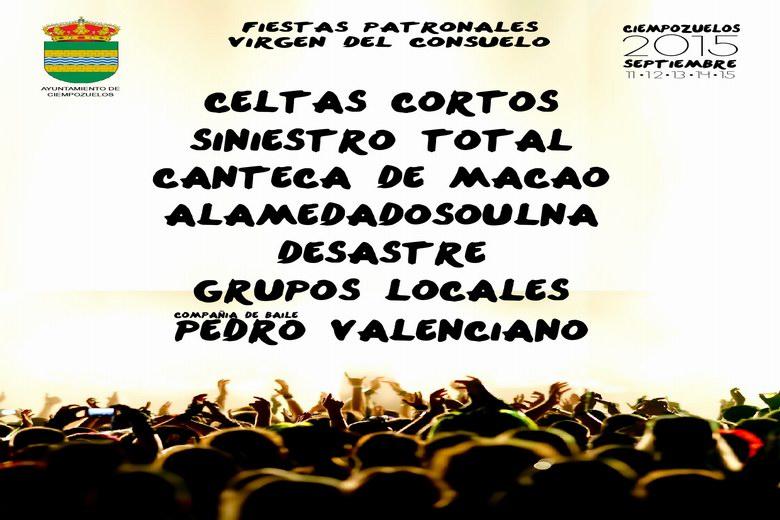 Novedades de la programación de las fiestas de Ciempozuelos 2015