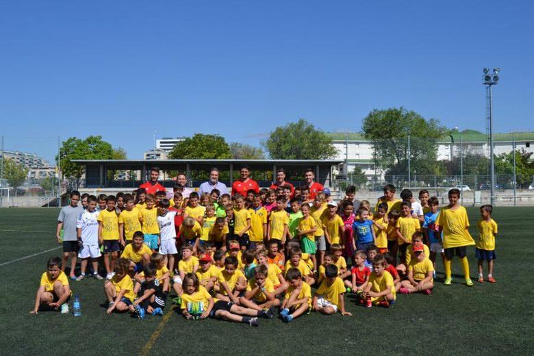 Éxito del Campus de Verano de la Agrupación Deportiva Alcorcón