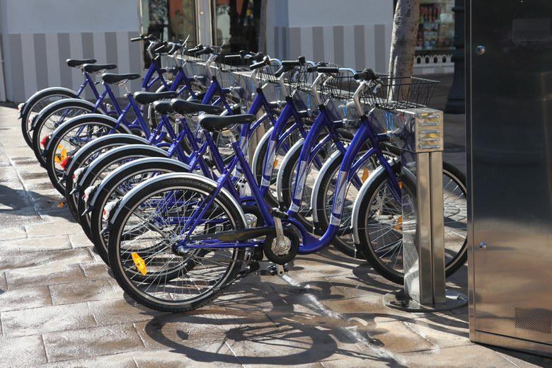 Nueva estación del Servicio Municipal de Alquiler de bicicletas públicas en el barrio de Buenavista de Getafe