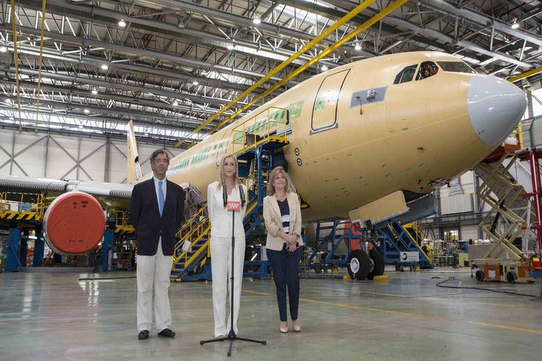 La región avanza en la reindustrialización del sur de la mano de Airbus
