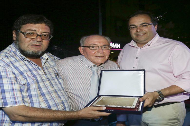 El artista local Antonio López, homenajeado en Leganés por su labor musical en la ciudad