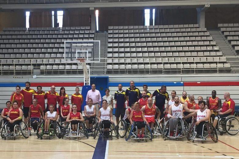La selección española femenina de baloncesto en silla finaliza en Leganés su concentración previa al Europeo
