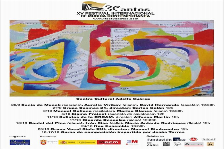 XV Festival Internacional de Música Contemporánea de Tres Cantos