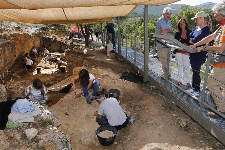 Este fin de semana se abre al público el Valle de los Neandertales
