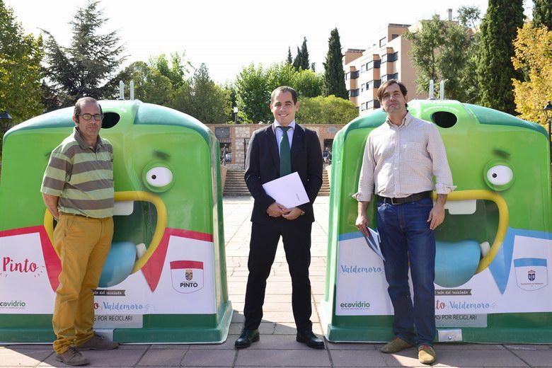 Ecovidrio lanza la campaña 'Entre Pinto y Valdemoro' para fomentar el reciclaje de vidrio