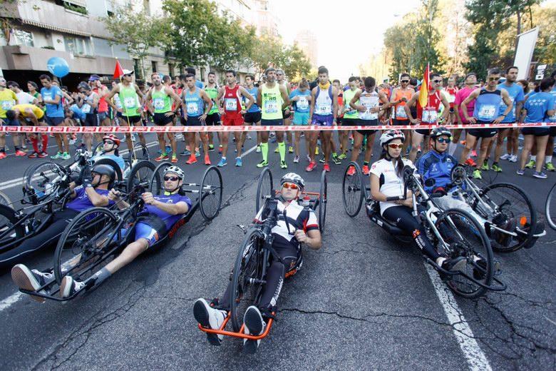 10.000 deportistas toman la capital en la VIII carrera 'Madrid corre por Madrid'