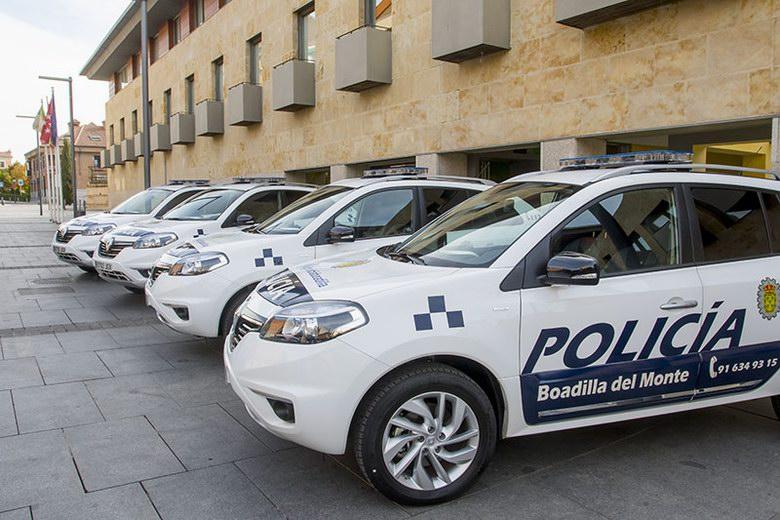 La Policía Local de Boadilla renueva parte de su flota de vehículos