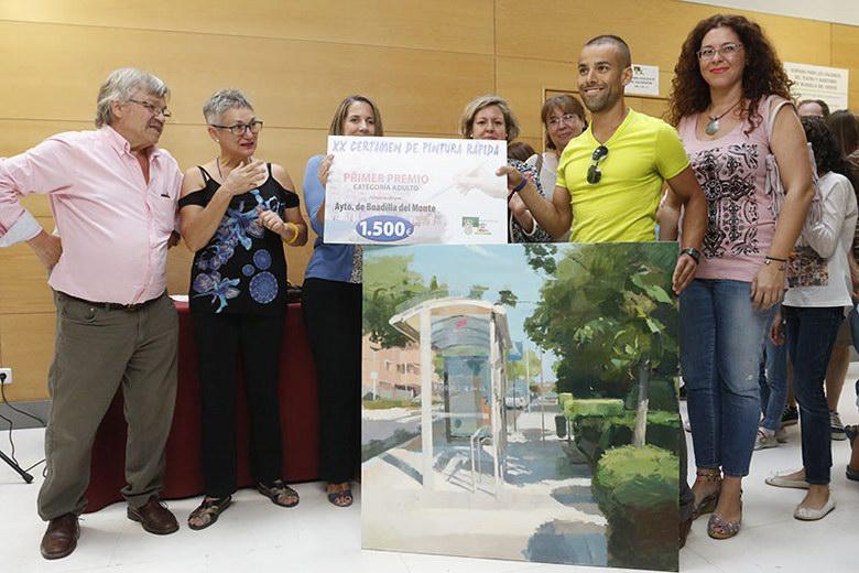 """Más de 80 participantes en el concurso de pintura rápida """"Boadilla y su entorno"""""""