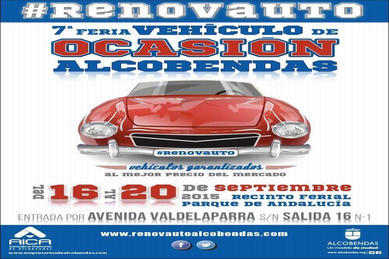 Vuelve la Feria del Vehículo de Ocasión de Alcobendas