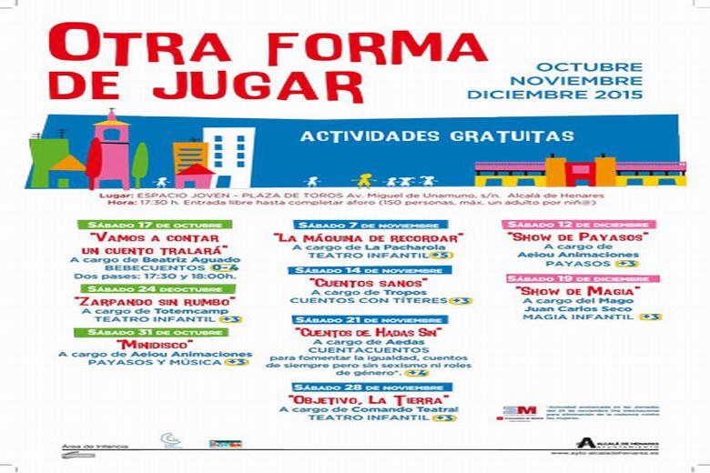 Alcalá lanza un nuevo calendario de actividades del programa 'Otra Forma de Jugar'
