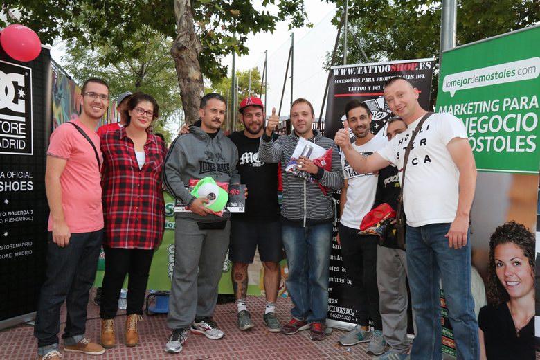 Entregados los premios del Concurso de Graffiti de Móstoles