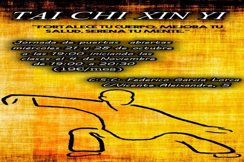Jornadas de puertas abiertas y nuevo curso de Tai Chi Xin Yi en Humanes