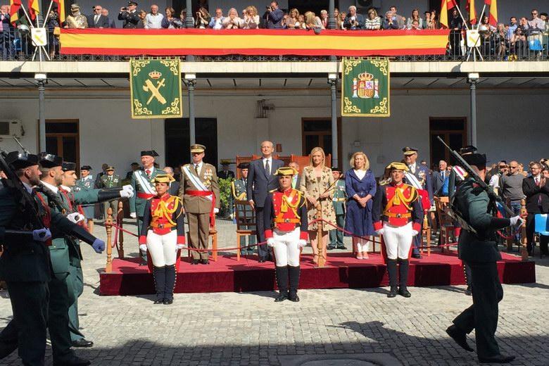 Cristina Cifuentes ha presidido los actos de celebración de la patrona de la Guardia Civil