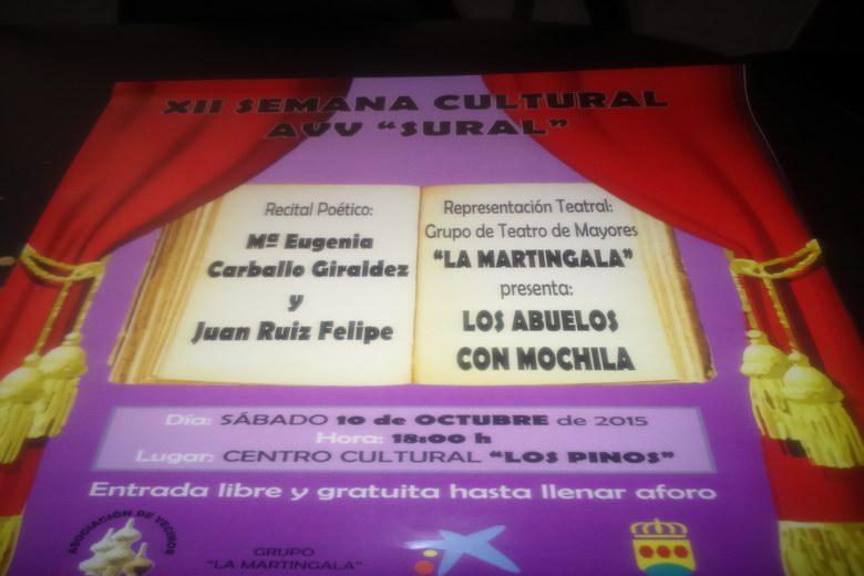 Comienza la XII Semana Cultural de la Asociación Sural de Alcorcón dedicada a los mayores