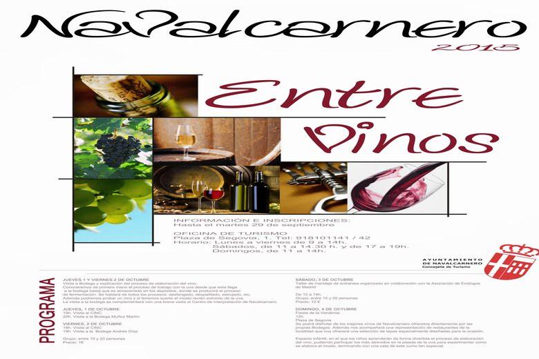 'Entre Vinos 2015' hasta el 4 de Octubre en Navalcarnero