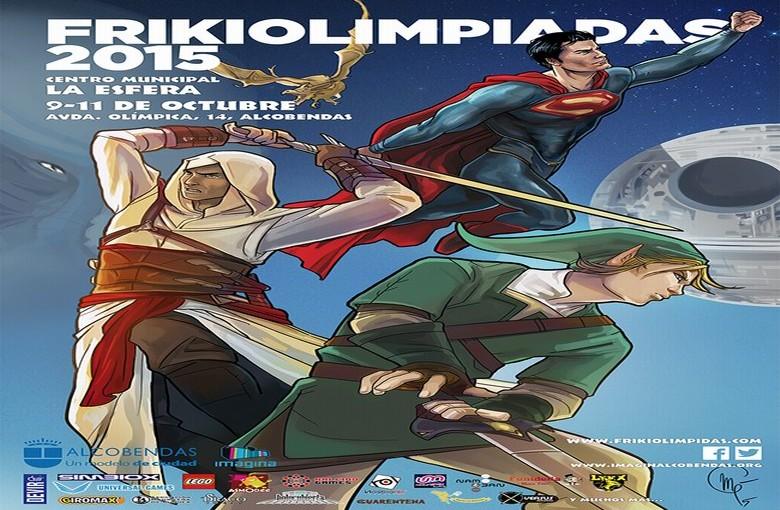Las  Frikiolimpiadas  vuelven a Alcobendas del 9 al 11 de Octubre 9919b5557fb6