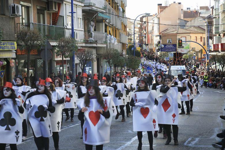 Los vecinos de Leganés se vuelcan con el carnaval