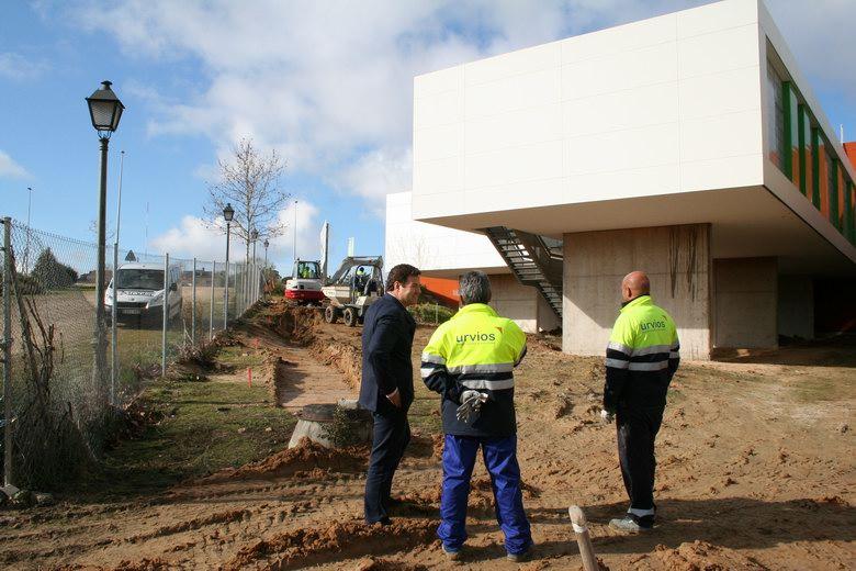 Arrancan las obras de acondicionamiento del centro de for Obra nueva las rozas