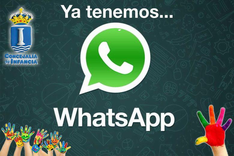 """La Concejalía de Infancia de Humanes implanta el servicio de """"WhatsApp"""""""