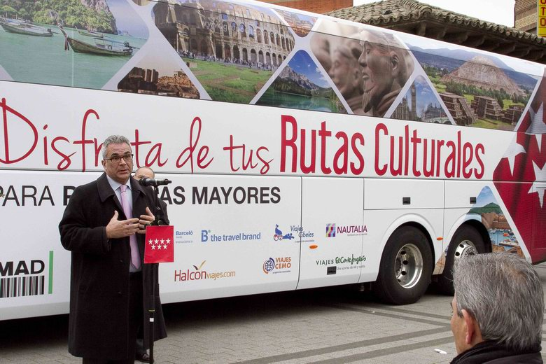 La Comunidad de Madrid aumenta un 65% las Rutas Culturales para mayores de 60 años