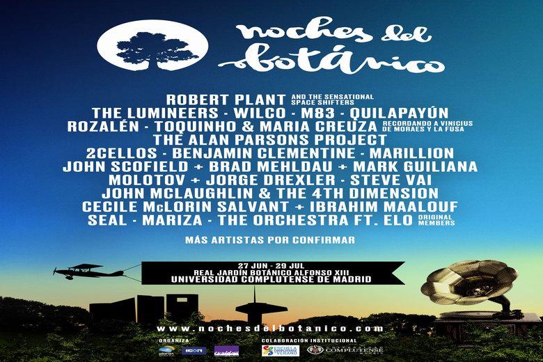 Nace noches del bot nico nuevo ciclo de conciertos para for Jardin botanico madrid conciertos