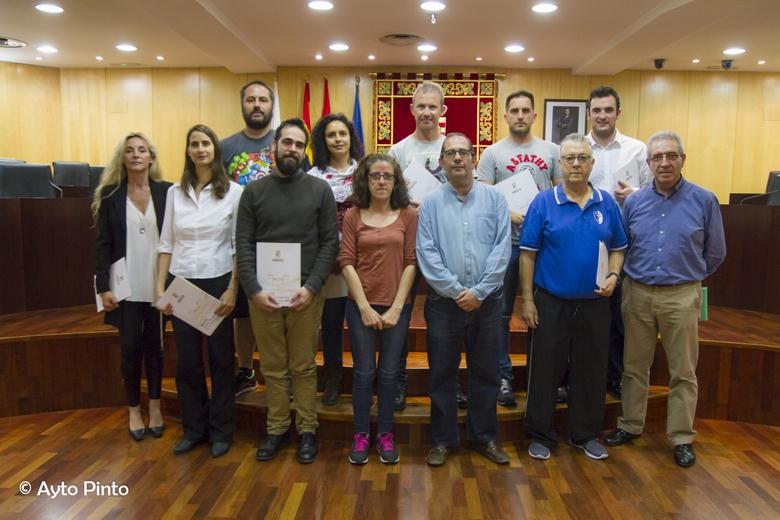 Pinto fomenta el desarrollo de las Escuelas Deportivas Municipales
