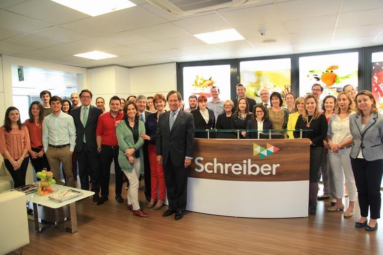 La compañía láctea Schreiber Foods  se expande por Europa desde Alcobendas