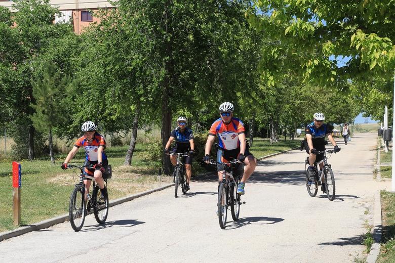 La Policía Local de Alcobendas refuerza el patrullaje en bicicleta