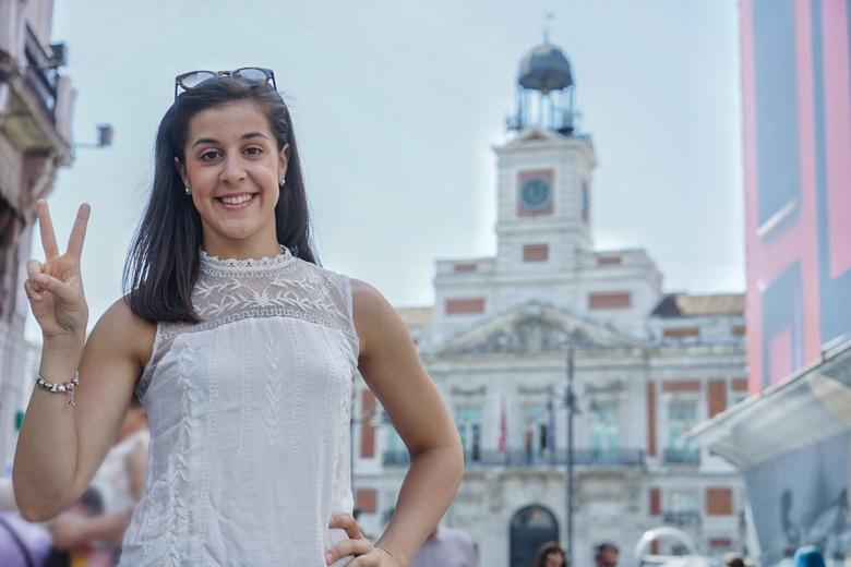 La campeona de bádminton Carolina Marín, nombrada Embajadora de Turismo de la Comunidad de Madrid