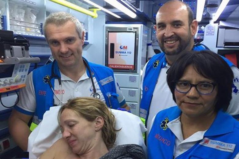 El SUMMA 112 atiende un parto en un domicilio de Pedrezuela