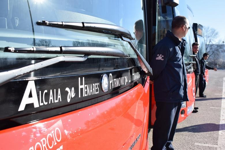 La Línea 9 de autobuses urbanos de Alcalá circula desde hoy por el barrio de El Olivar