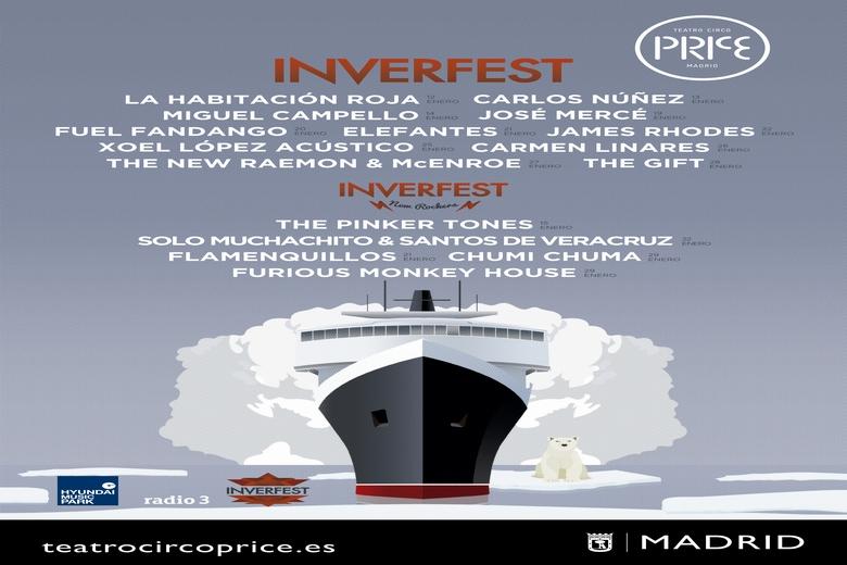 José Mercé, Fuel Fandango, Elefantes y James Rhodes, esta semana en el Price en Inverfest